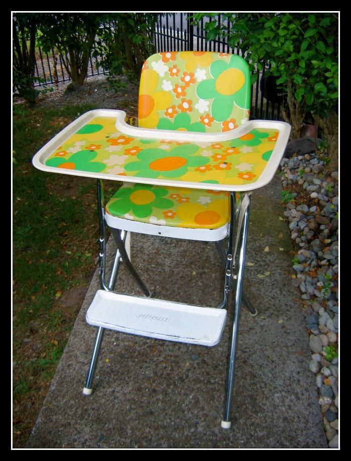 Vintage High Chair | Vintage high chairs, Vintage pram ...