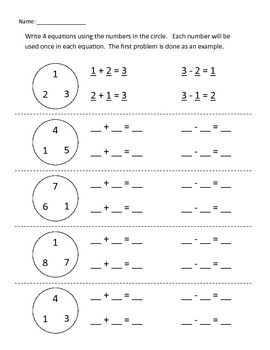 Rearranged Equations--Addition and Subtraction | Addition ...