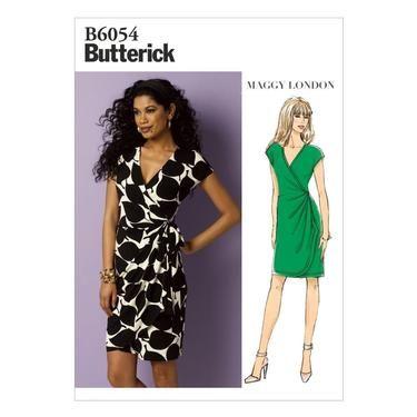 Butterick B6054 Misses\' Dress   Spotlight Australia   Spotlight ...