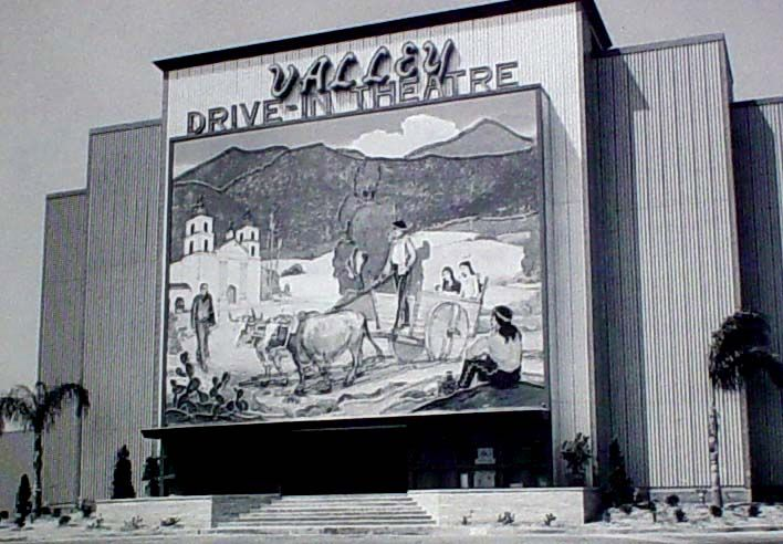 Valley Drive In Montclair Ca Demolished The Early 1980 S