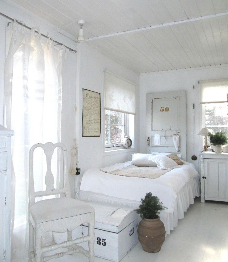 Nett schlafzimmer landhausstil weiß - | Schöner wohnen ...