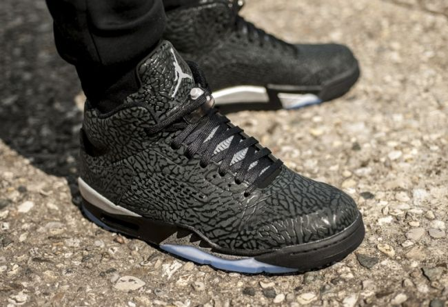fb51bb1401f2b9 On Feet 2014 Nike Air Jordan 3Lab5 Metallic Silver Shoes On Sale Cheap  599581-003
