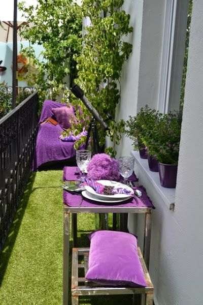 Una Buena Idea Pon Cesped Artificial En Tu Terraza Decoracion De Terraza Interior Jardin En Balcon Cesped Artificial