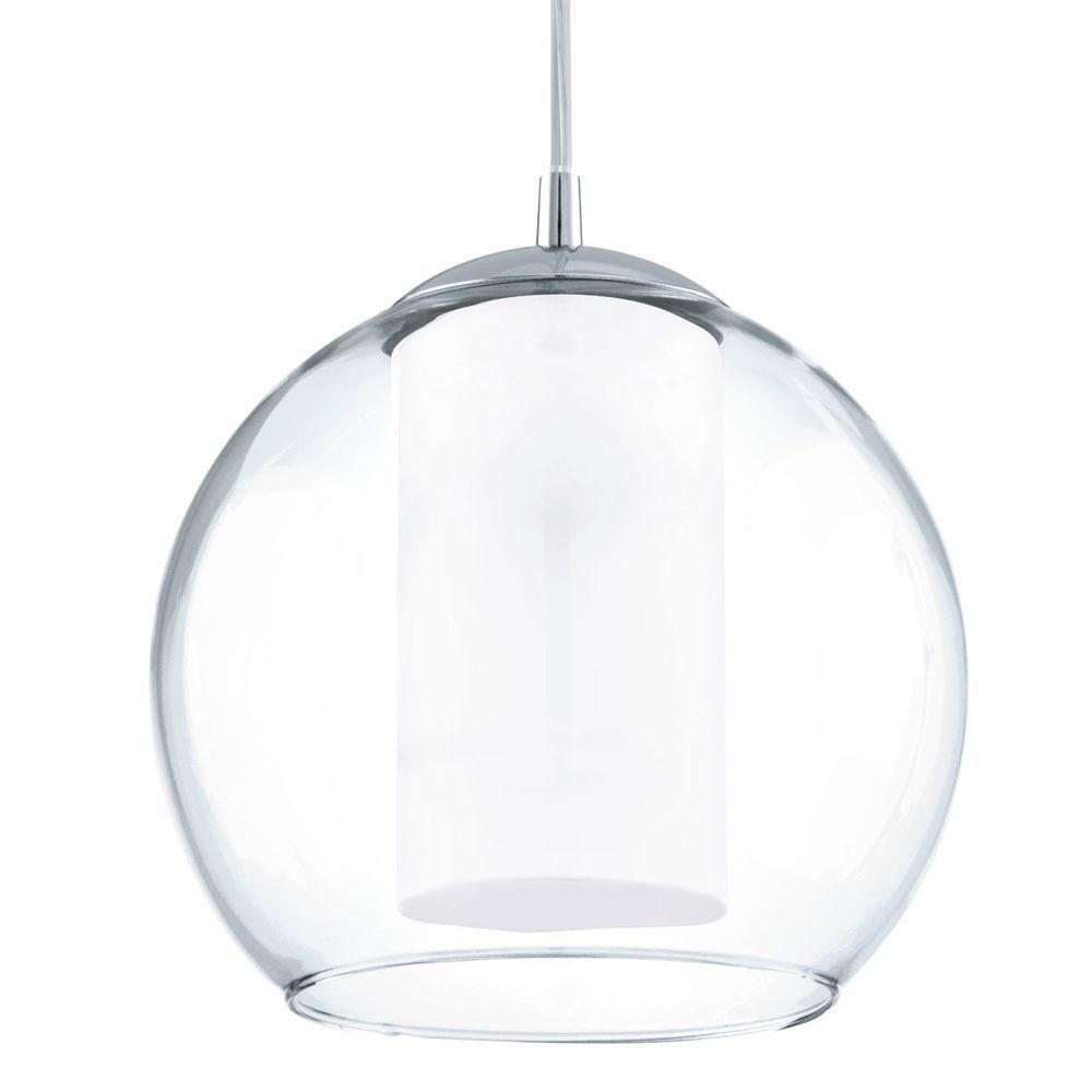 mini globe pendant light. Eglo 92761 Bolsano Clear Glass Globe Pendant Light Mini E