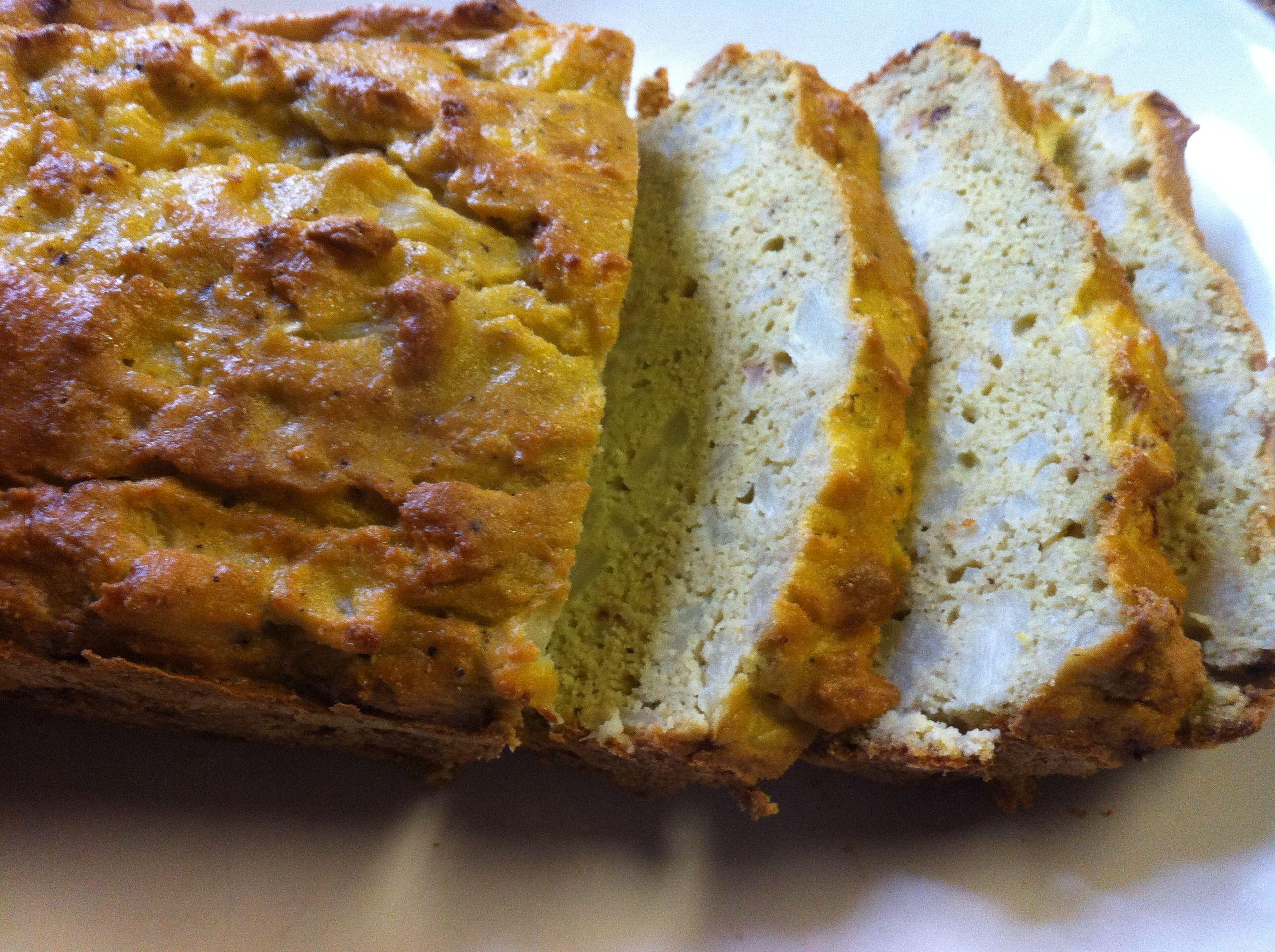 Cauliflower Bread Cauliflower Eggs Non Reactive Oil Almond