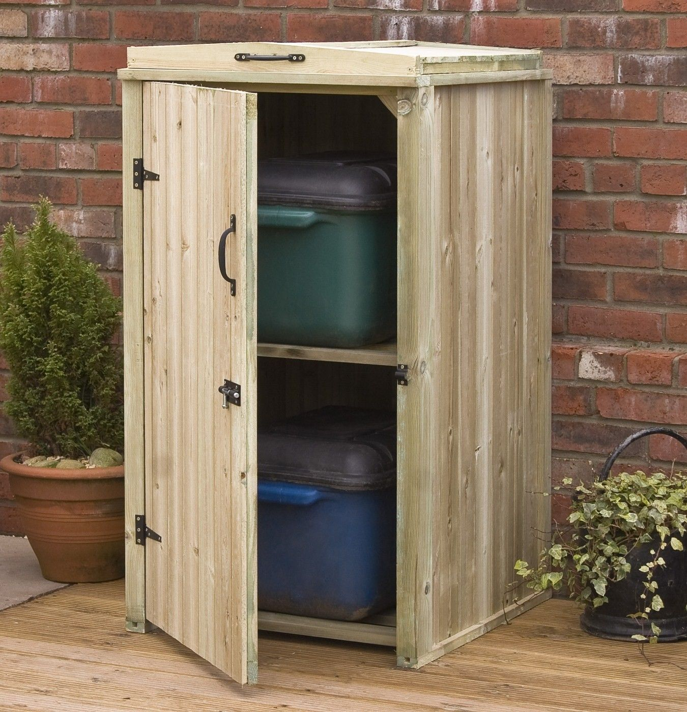 Outdoor Wood Storage Cabinet : outdoor patio storage cabinet - thejasonspencertrust.org