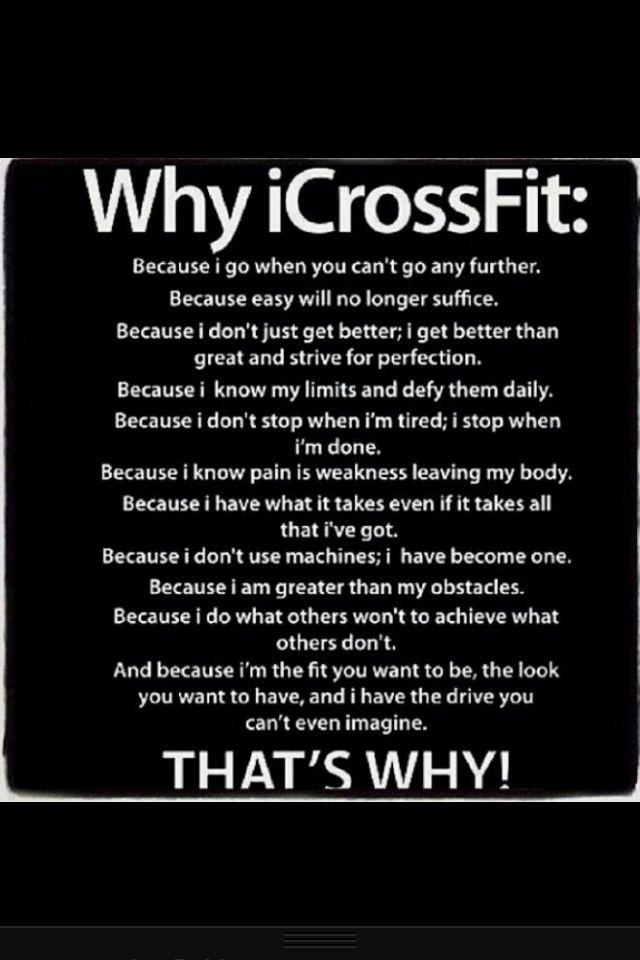Crossfit Quotes, Crossfit Motivation