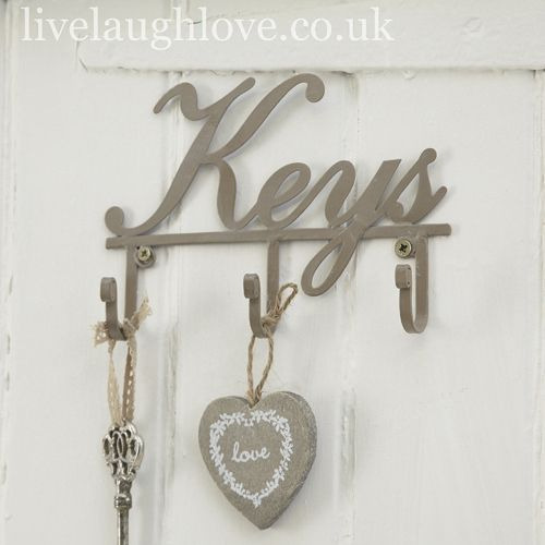 It's all about Hearts   Key HooksWall ...
