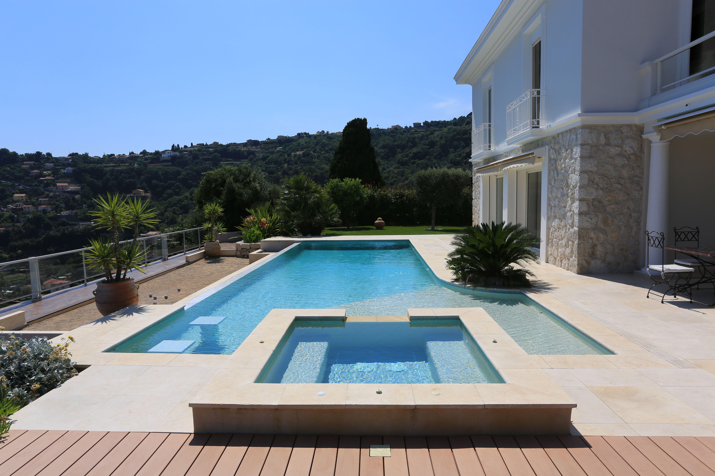 A La Fois Piscine Et Spa Diffazur Piscines Rooftop Poolfairy