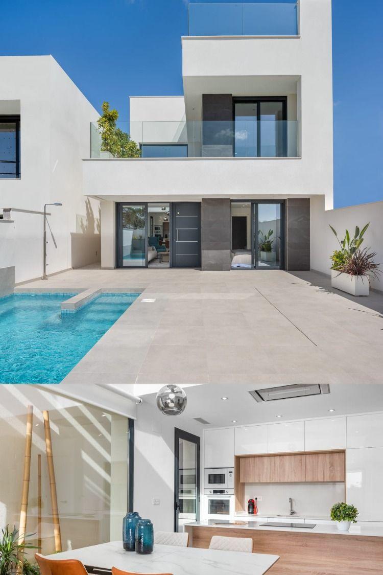 Newbuild villa close to Alicante in vivid Spanish town