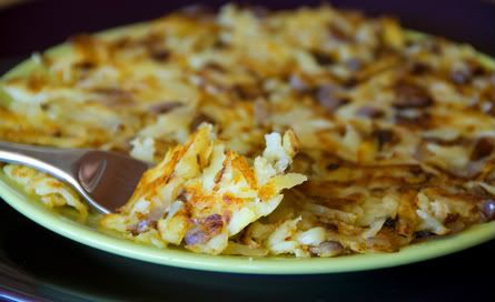 Onion Rosti - Lunch