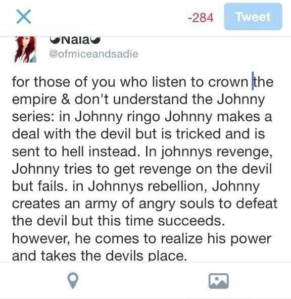 This Is A Perfect Explanation Of The Johnny Ringo Chronicles Crown The Empire Crown The Empire Empire Memes Johnny Ringo