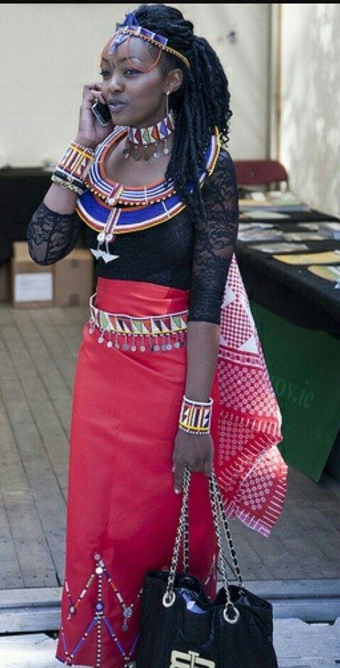 Modern Maasai | African Beauty | Pinterest | Goddesses and Africans