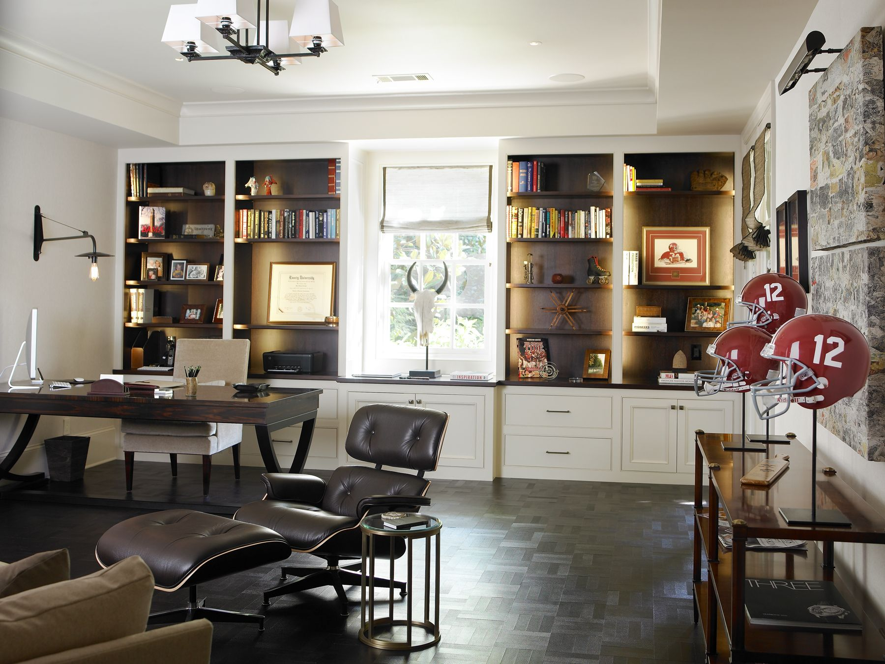 Winning Style - home office || Atlanta Homes & Lifestyles :: SILVER ...