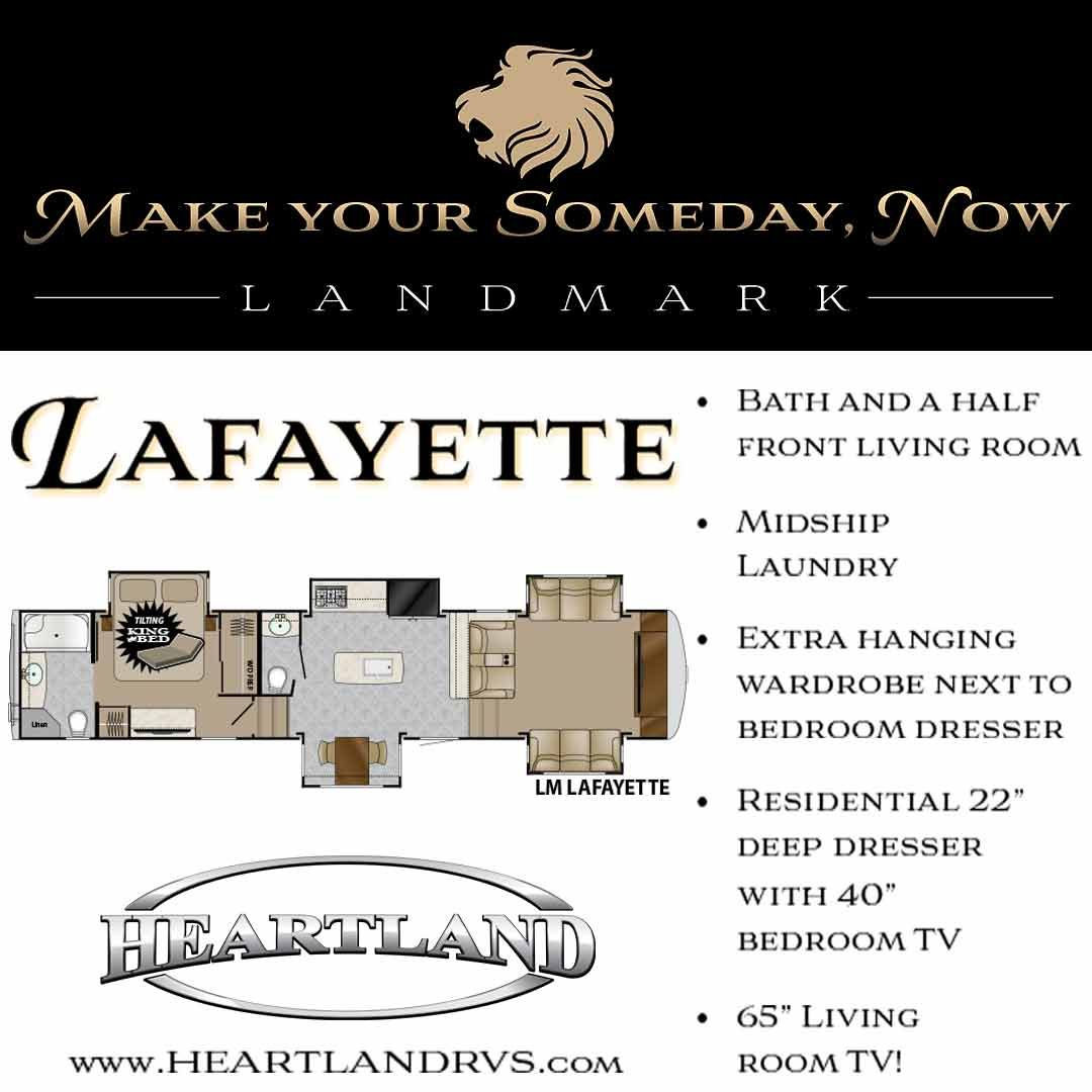 5th wheel master bedroom  Have you checked out the Landmark Lafayette This luxurious th