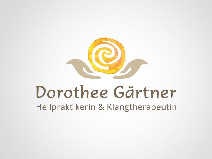 Logo Heilpraxis Gärtner Identité Visuelle Logos Logos