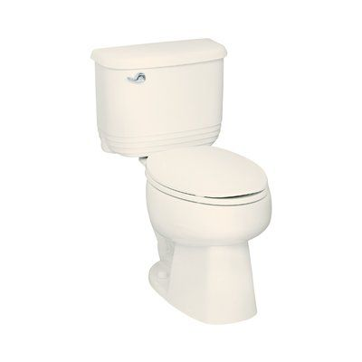 Sterling By Kohler Riverton 1 6 Gpf Elongated 2 Piece Toilet