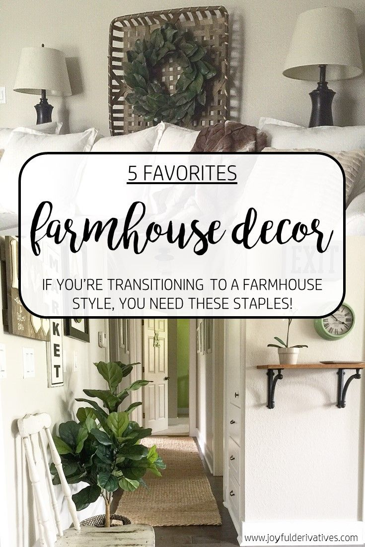 5 Friday Favorites Farmhouse Decor