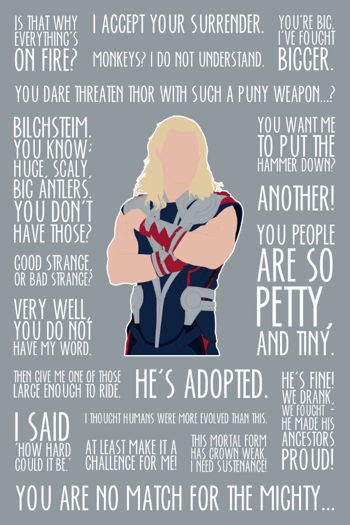 Loki Wallpaper Quote The God Of Thunder Movie Quotes Marvel Mania Marvel