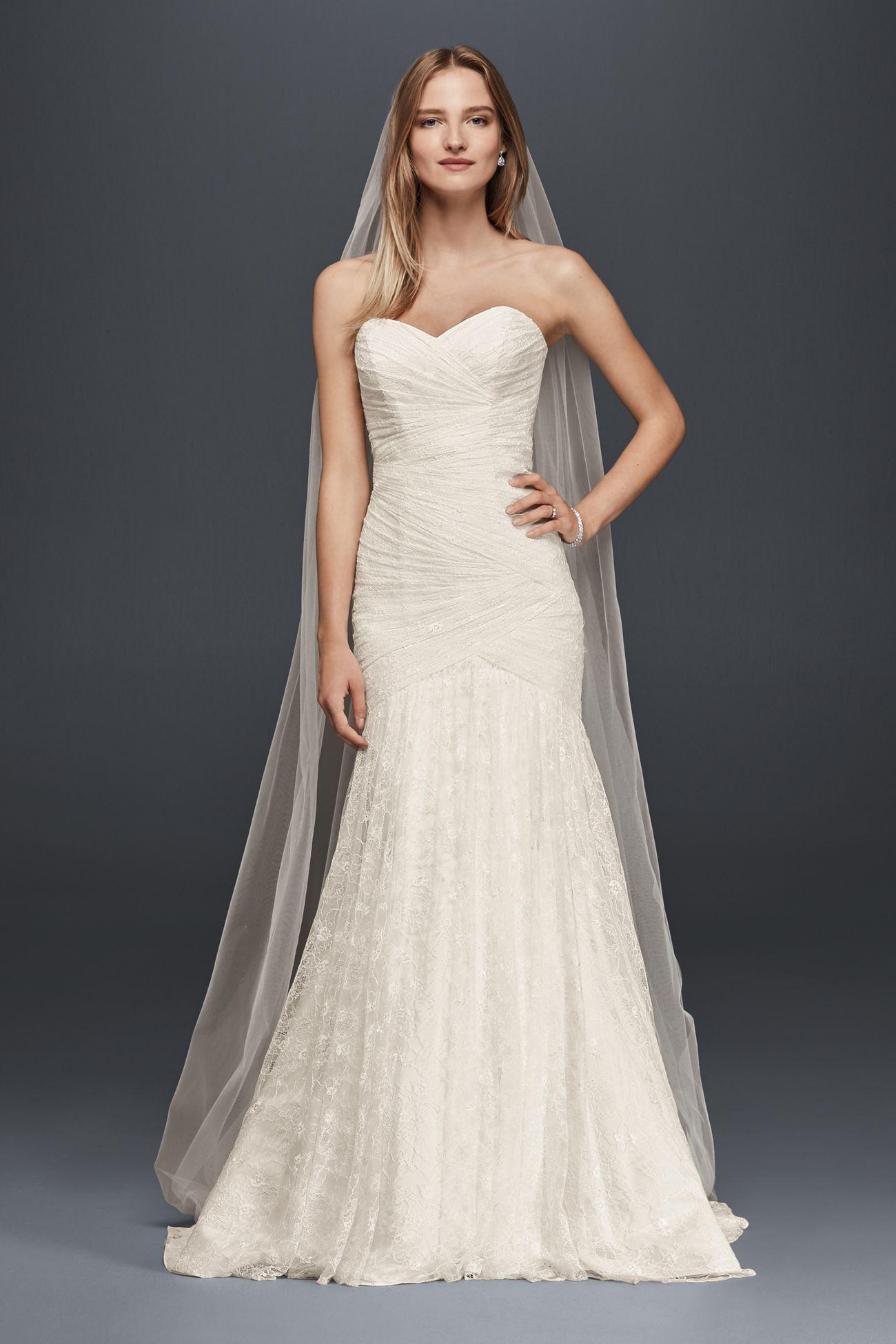 WG3842 David s Bridal Weddings My secret addiction