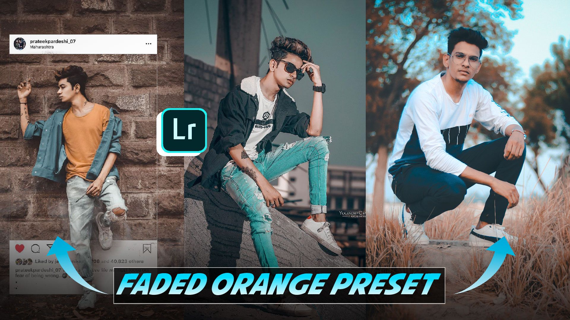 Download Preset Lightroom Android Aqua And Brown
