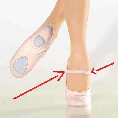 28d938b958 Sapatilha de bailarina passo a passo e com molde | Ballet ...