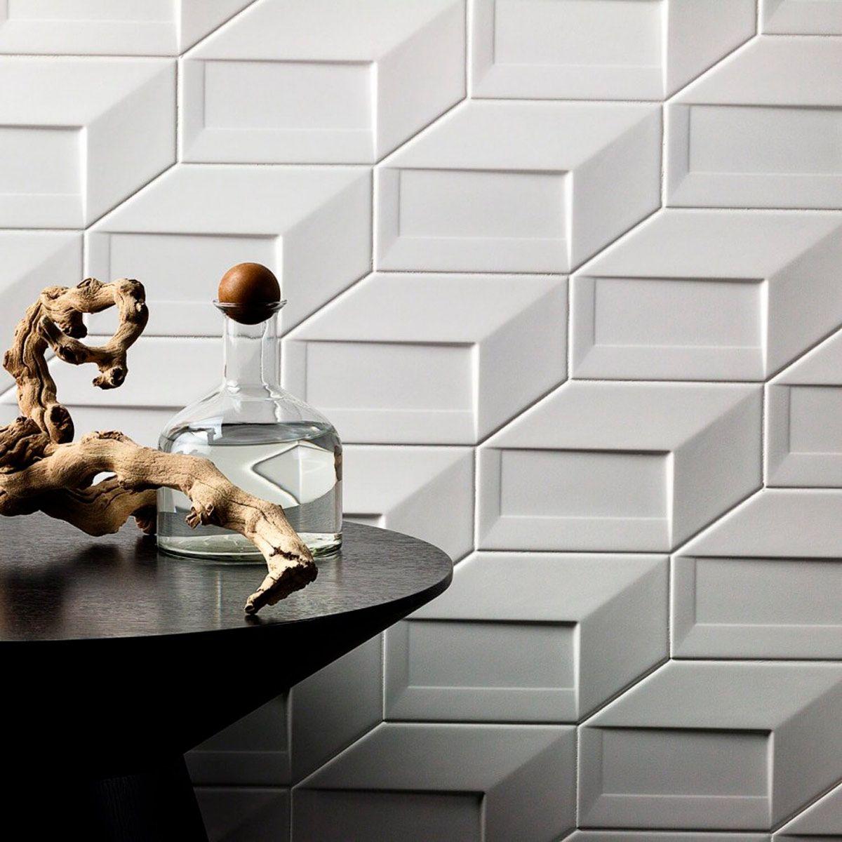 Why You Should Avoid The Ceramic 3d Tile Trend Tile Trends Kitchen Remodel Countertops Diy Kitchen Backsplash