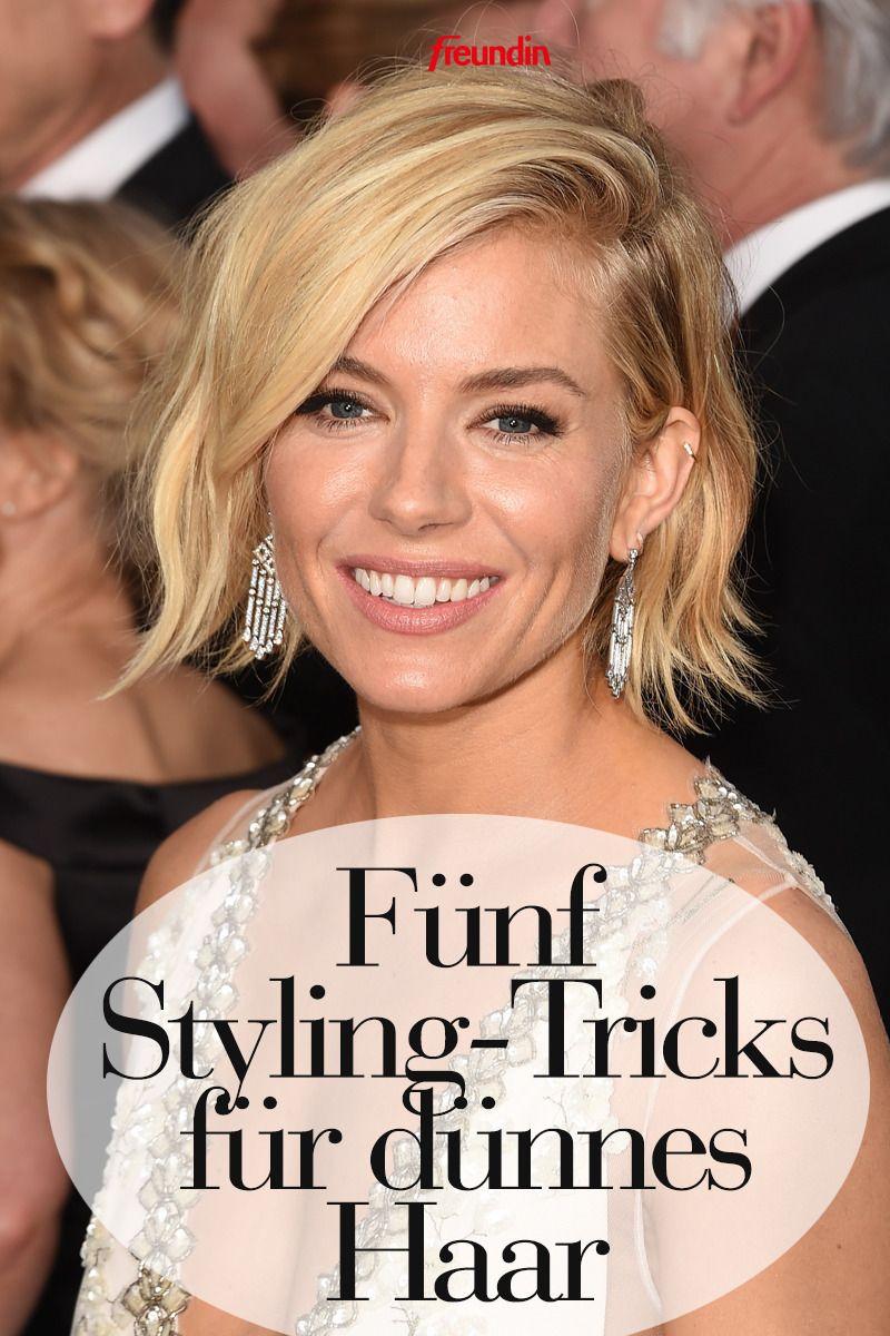 5 grandiose Styling-Tricks für feines Haar | freundin.de