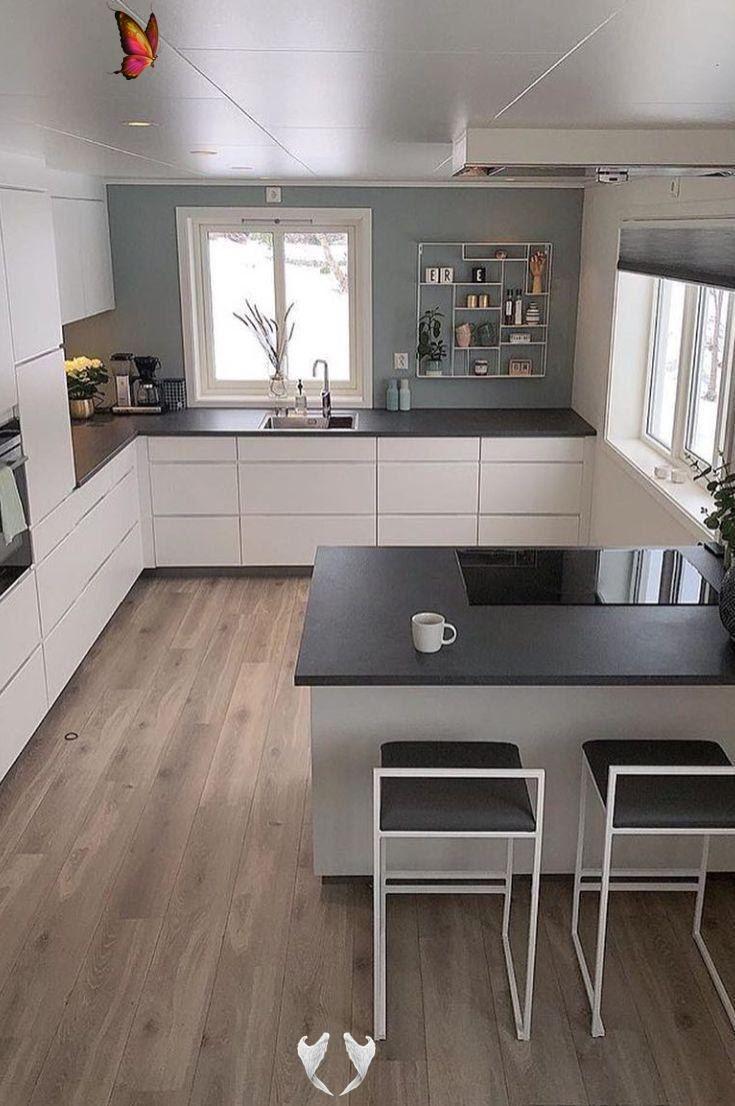 idee da cucina a forma di u gli esempi in 2020 kitchen layout modern kitchen design u on u kitchen interior id=87933