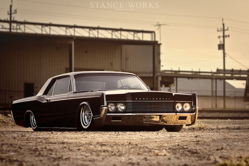 Conty With Bags Lincoln Continental Lincoln Cars Dream Cars