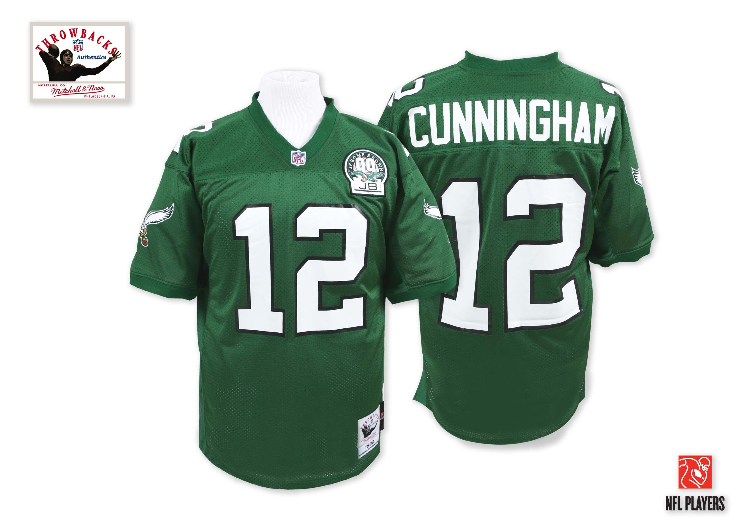 5db6babe Randall Cunningham 1992 Authentic Jersey Philadelphia Eagles www ...