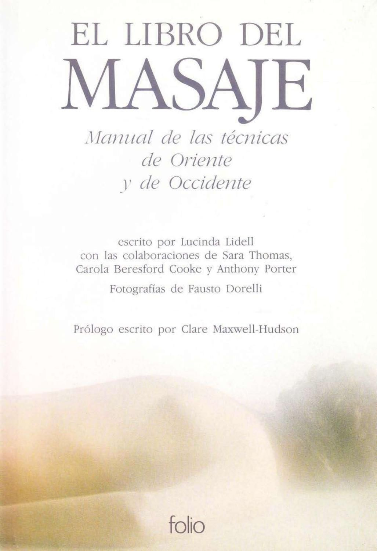 Libro Del Masajes Tecnicas De Oriente Y Occidente Masaje Relax Masaje Masaje Abdominal