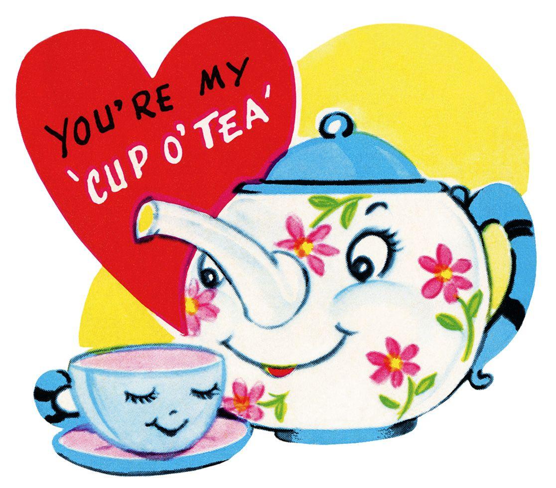 clipart valentine, free retro valentine, public domain valentine ...