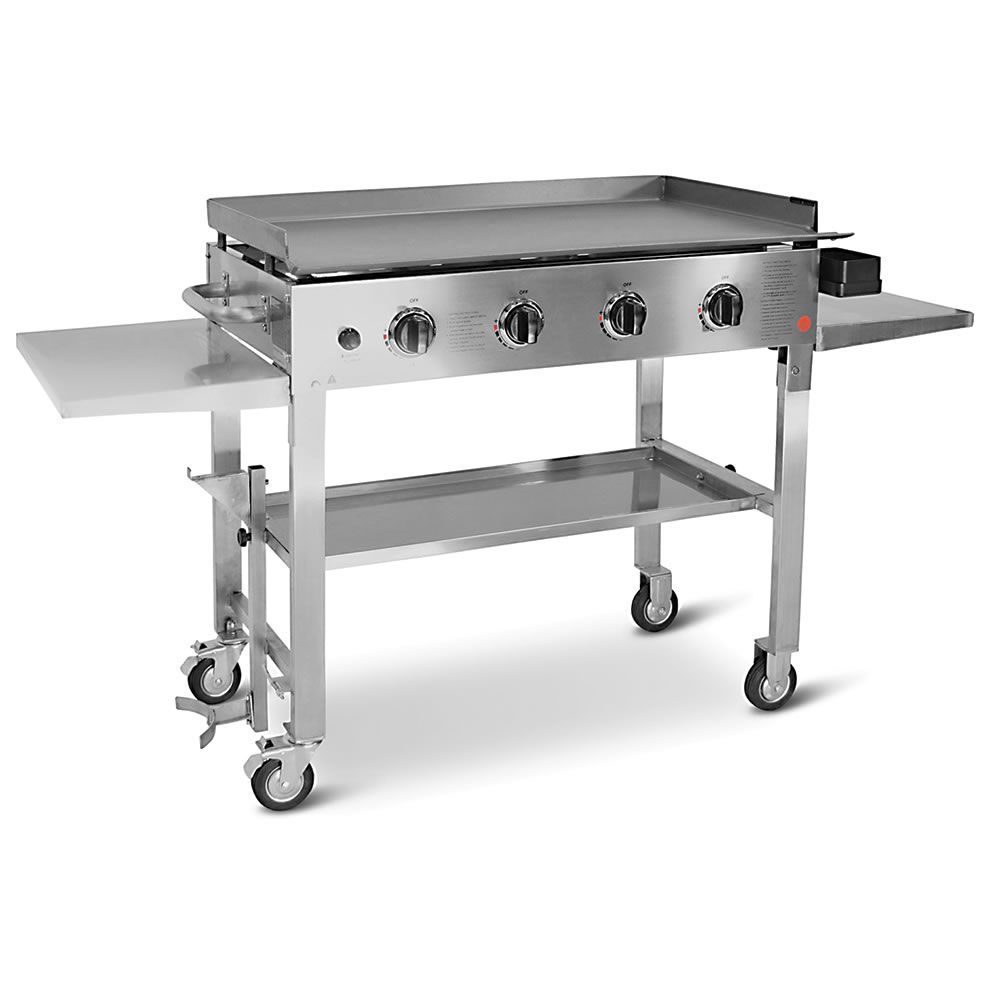 this is the outdoor flat top grill that brings the