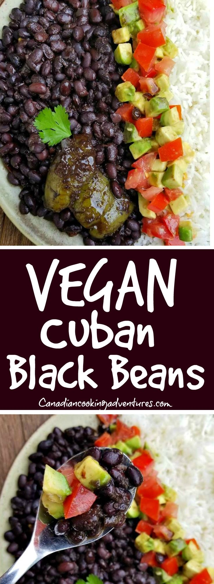 Vegan Cuban Black Beans In 2019 Plant Based Dinner
