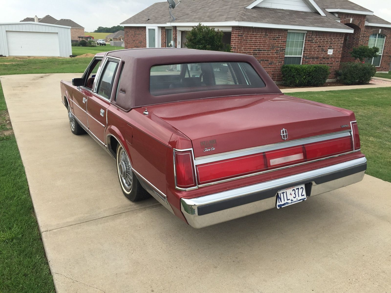 1985 Lincoln Town Car Signature Classic Cars Pinterest Lincoln
