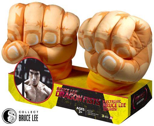 Punhos Eletrônicos do Mestre Bruce Lee