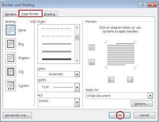 Cara menambahkan bingkai atau border di ms word tips belajar ms cara menambahkan bingkai atau border di ms word ccuart Image collections