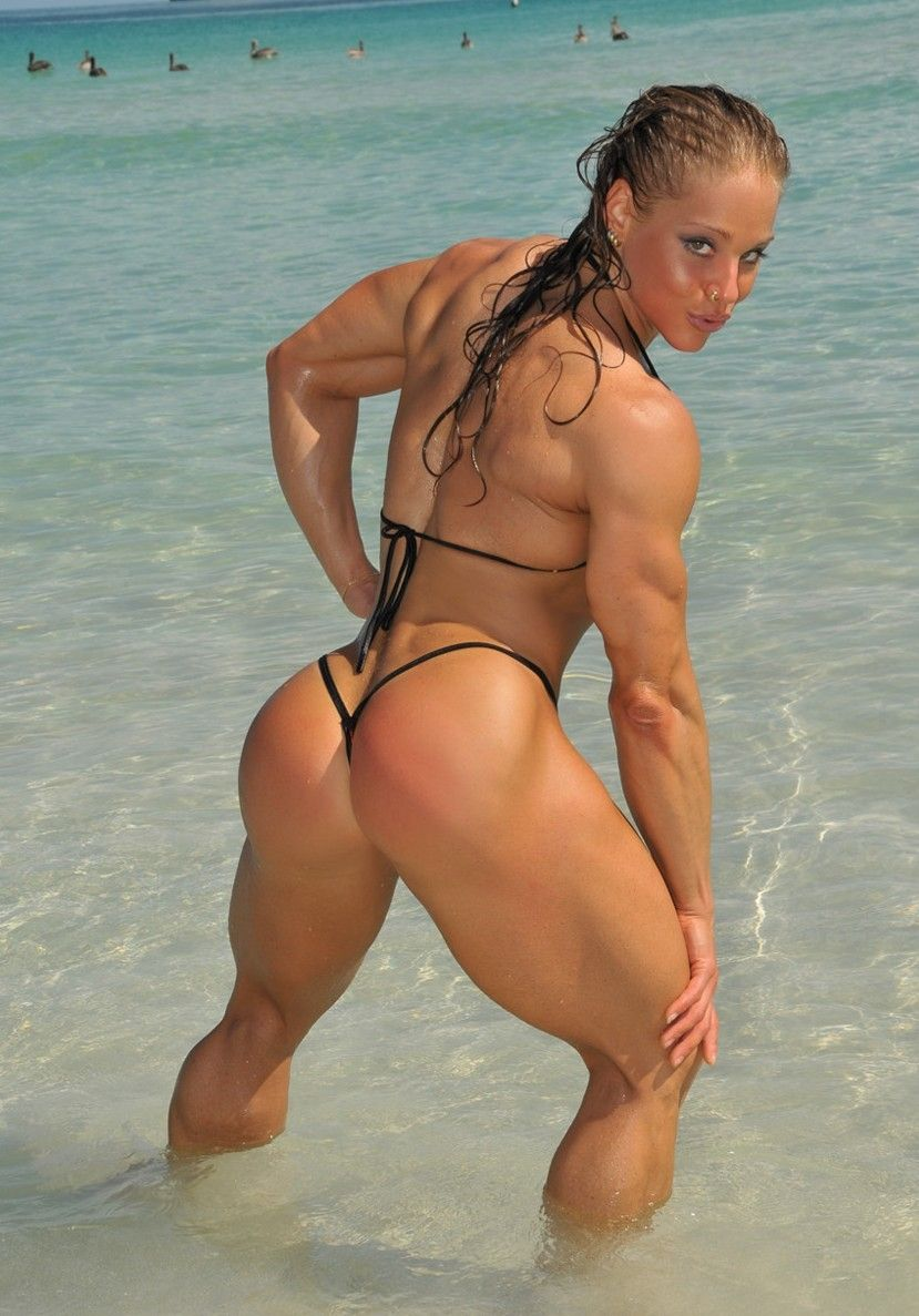 muscular women in porn