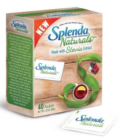 Free Splenda Naturals Stevia Sweetener Sample