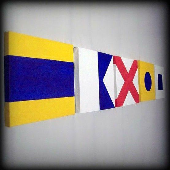 DIY: Nautical Flags