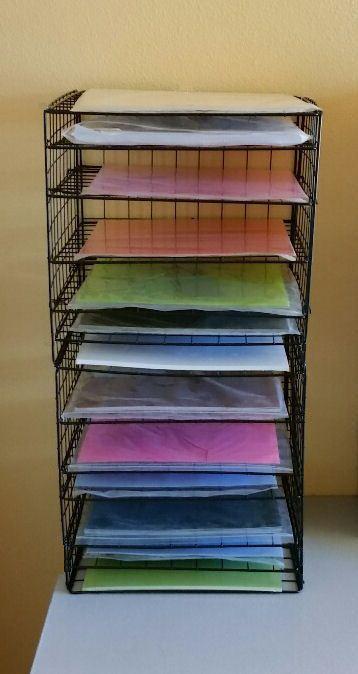 Diy 12x12 Scrapbook Paper Storage Organizer Instructions Save Scrapbook Paper Storage Scrapbook Storage Paper Storage