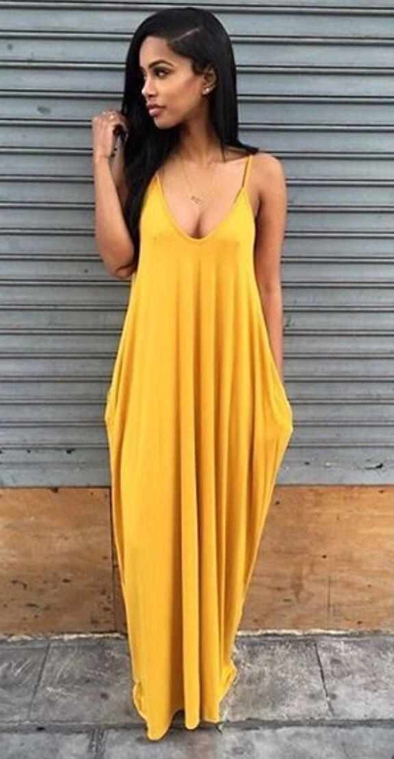 4fb128f58a5f Cute Maxi Dress