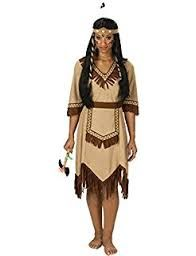 Indianerkostüm Damen Indianerin Kostüm Cheyenne Indianerinnenkostüm Pocahontas