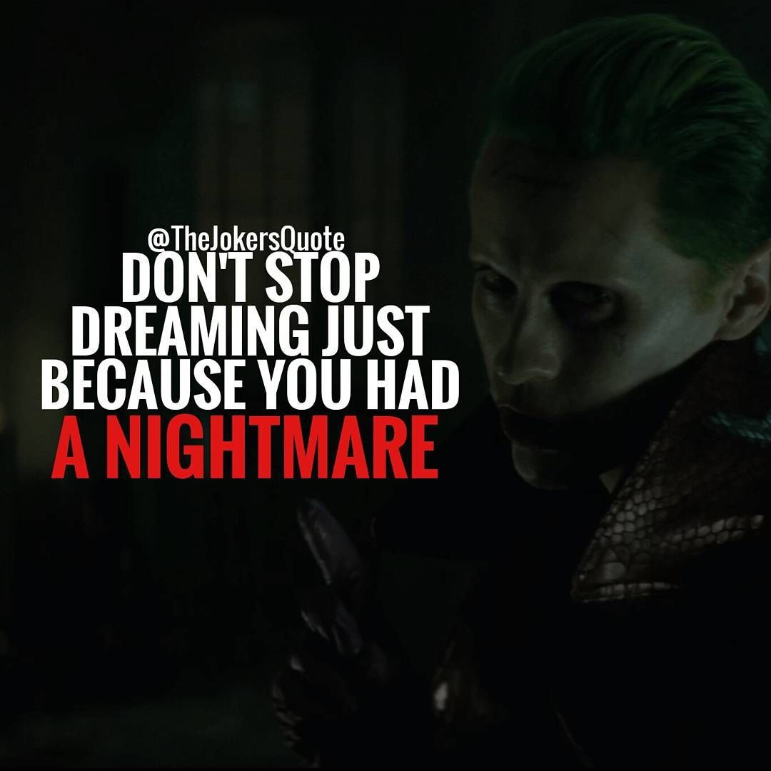Ti Motivational Quotes: Must Follow @_Joker_Forever @TheJokersQuote
