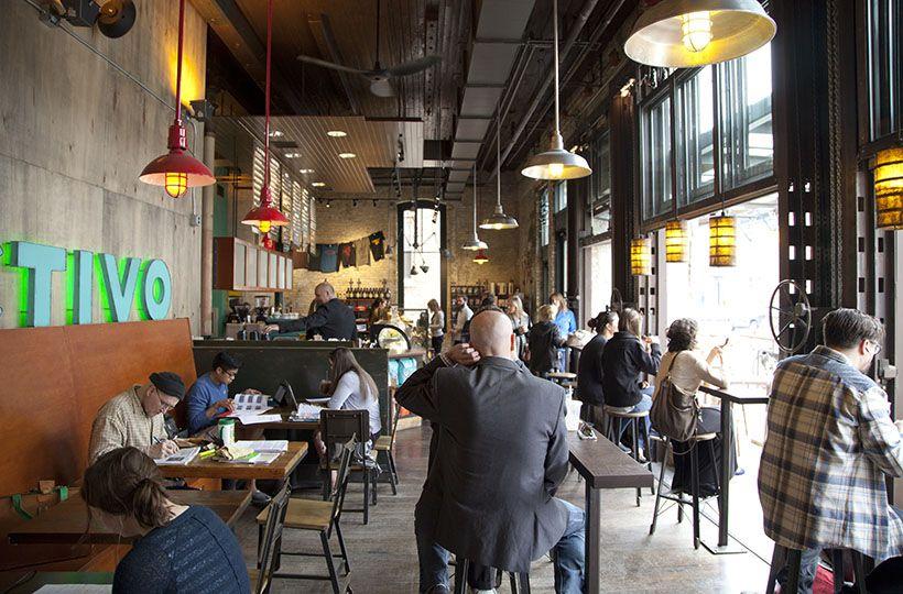 Third Ward Cafe Colectivo Coffee Milwaukee Wi Milwaukee Public