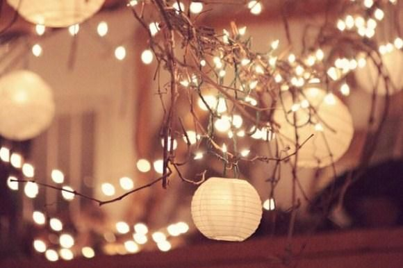 Simple Decorating For Your End-Of-Summer Party: String Lights ...