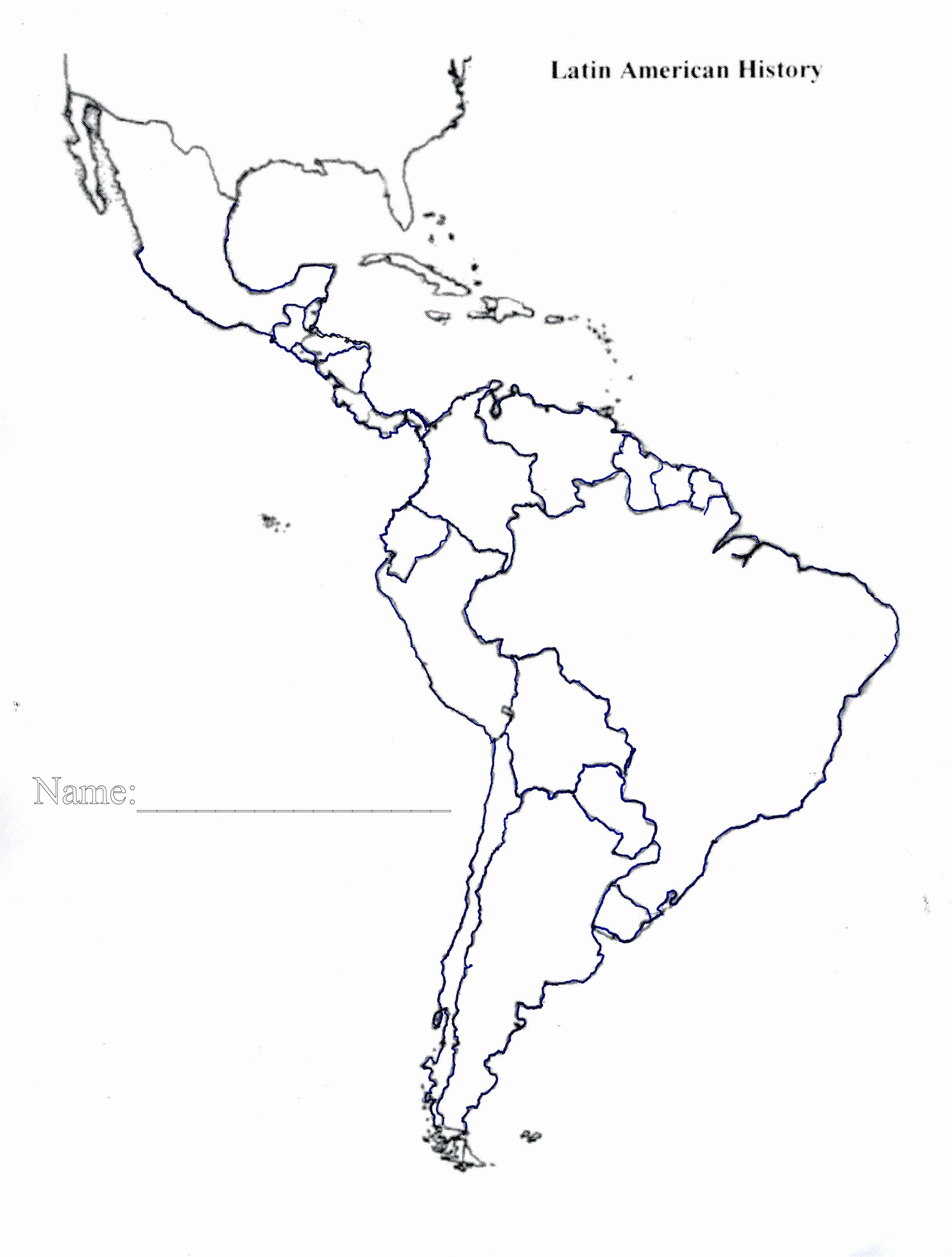 South America Map Coloring Page America Map World Map Coloring