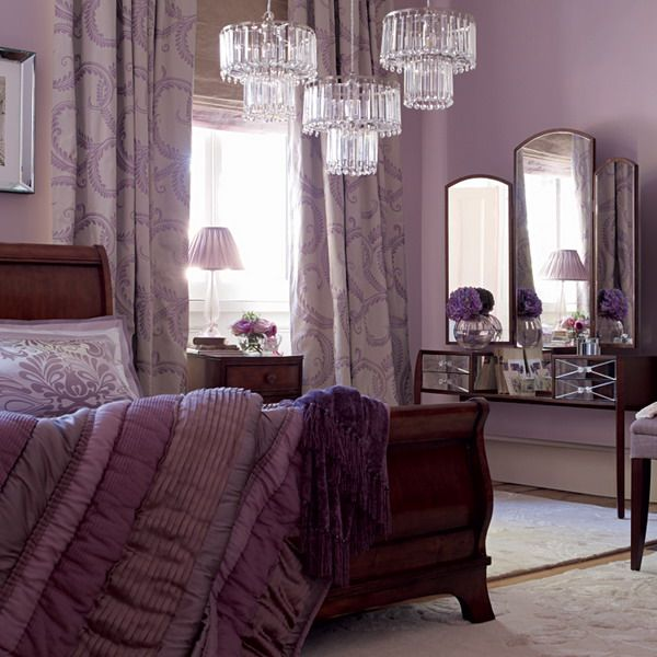 Purple And White Bedroom Combination Ideas  Cozy Purple Bedrooms Unique Purple Bedroom Colour Schemes Modern Design Inspiration