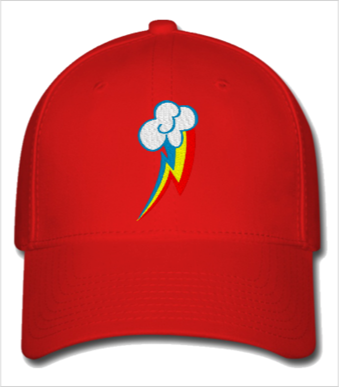 3bbdf85ae86 RAINBOW DASH my little pony Embroidery - Flexfit Baseball Cap ...
